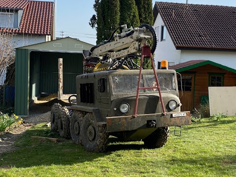 Радиоуправляемый МАЗ 537 в маштабе 1 к 2,5