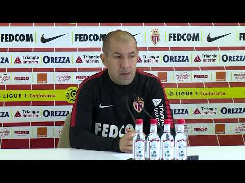 Football: Press conference prior to the Monaco/Lille match