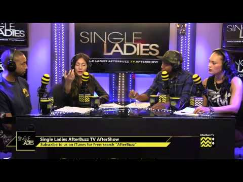 """Single Ladies After Show Season 3 Episode 9 """"Cat and Mouse"""" 