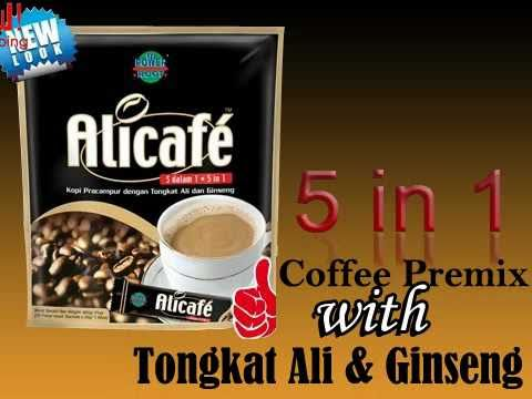 Online Shopping for Alicafe Coffee Premix With Tongkat Ali & Ginseng Instant 5 In 1