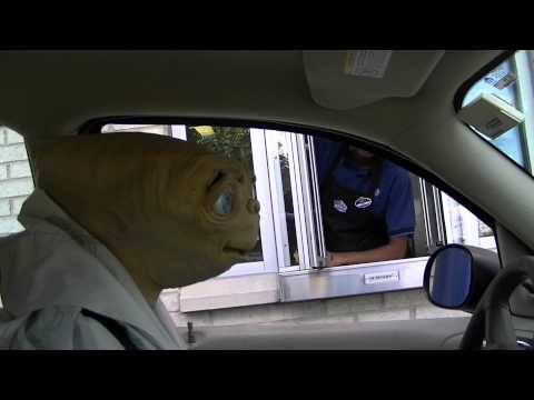 Stone Cold E.T. Goes Through White Castle Drive-Thru