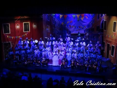 Coro «Candombe» (Isla Cristina) – Preliminares.