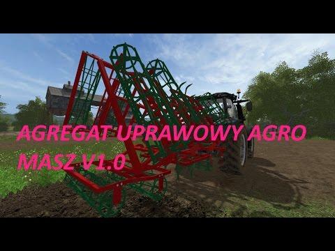 Agregat uprawowy Agro Masz v1.0