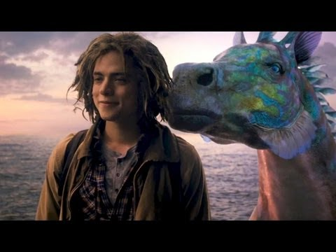 "PERCY JACKSON 2 ""Hippocampus"" Movie Clip # 6"