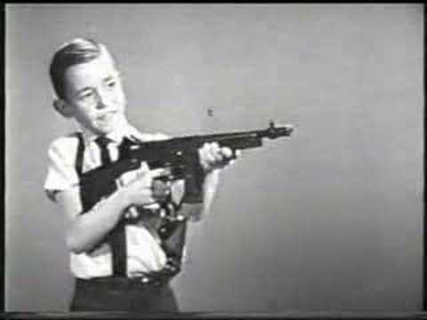 Mattel Tommy Burst TV commercial 1960s