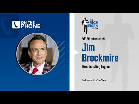 Jim Brockmire on His Ongoing Beef with Brent Musburger | The Rich Eisen Show | 6/15/20
