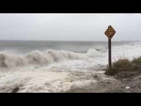 Oct 29 2015 Storm Surge In Meteghan Nova Scotia