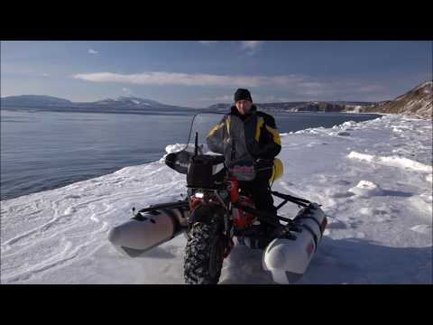 Mammoth Motorbike Expedition Potsdam Berlin To Sibiria And Alaska - The Trip