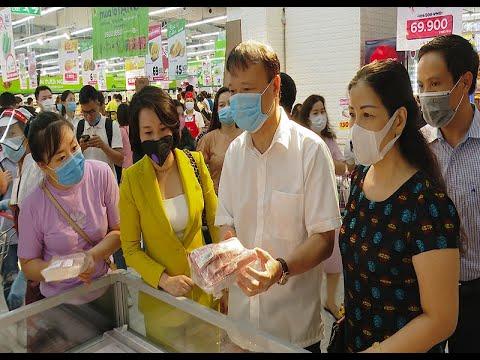 Bộ Công Thương kiểm tra khả năng cung ứng hàng hóa thiết yếu tại siêu thị