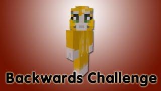 Minecraft Xbox - Backwards Challenge - Part 2