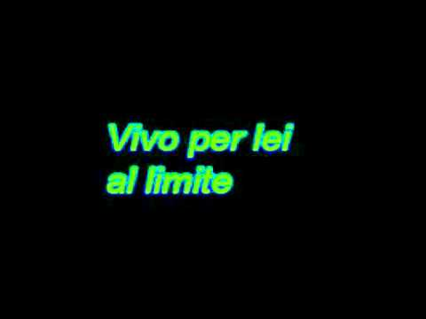 Andrea Bocelli Ft Giorgia - Vivo Per Lei (Lyrics)