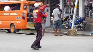 Ormoc Philippines  city pictures gallery : The best traffic enforcer in the world - Ormoc City, Leyte, Philippines