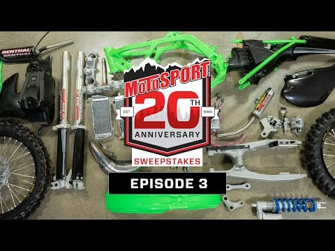The MotoSport.com 20th Anniversary Sweepstakes | Episode 3