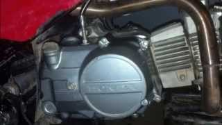 7. Honda TRX 90 HOW TO... MANUAL HAND CLUTCH BUILD
