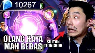 Video 10K DIAMONDS HABIS DEMI SKIN LEGEND (FT. COW YUN PAT) • Mobile Legends Indonesia MP3, 3GP, MP4, WEBM, AVI, FLV Oktober 2017