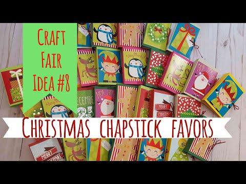 craft fair idea 8 christmas chapstick favors 2017