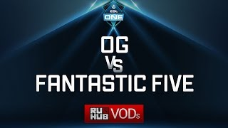 OG vs Fantastic Five, ESL One Genting Quals, game 1 [LightOfHeaveN, Jam]