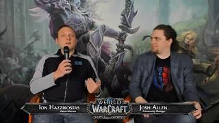 Battle for Azeroth Live Developer Q&A w/ Ion Hazzikostas 3/15/2018