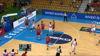 Assist of the Game D. Markota CRO-GEO EuroBasket 2013