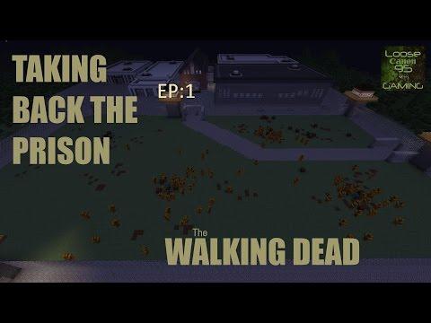 minecraft walking dead EP.1 I DIE!!!!!!!!!!!!!!!!!!!
