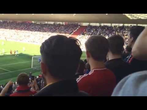 Middlesbrough vs Leeds United 27/9/15 - Jimmy Saville, he's one of your own!