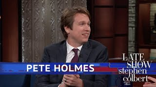 Video Pete Holmes Had A Heckler At His Wedding Named 'Mom' MP3, 3GP, MP4, WEBM, AVI, FLV Oktober 2018