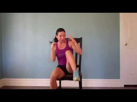 Chair Workout – Overweight & Obese Fitness