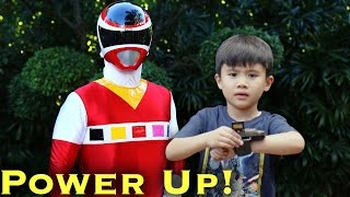 Ranger Kid, Power Up!  [Power Rangers Morph]