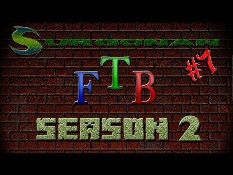Minecraft FTB Season 2 - Ep. 7 - Dealing with a quarry!!!