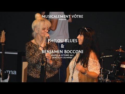 Musicalement Vôtre présente : Philou Blues & Benjamin Bocconi en concert
