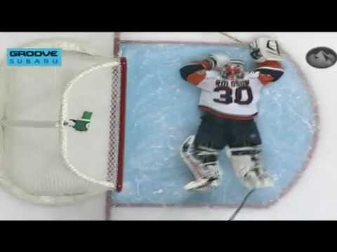 NHL top 10 saves of the year 2009 - 2010