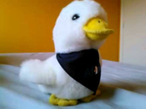 Aflac plush toy duck