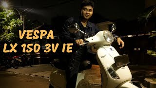 7. Review Vespa LX 150 3V ie