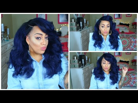 Video SLAYING VANESSA COLLECTION BELLA KINKY SYNTHETIC BLUE WIG sistawigs.com download in MP3, 3GP, MP4, WEBM, AVI, FLV January 2017