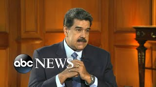 Nicolas Maduro accuses US of fabricating a crisis