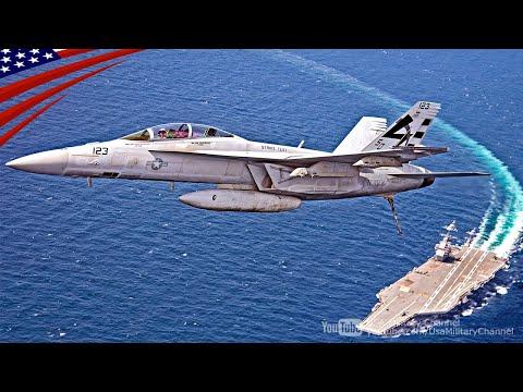 U.S. Navy's F/A-18 Super Hornet,...