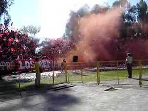Salida de los ReDiablos Frente a Colo Colo - Los REDiablos - Ñublense