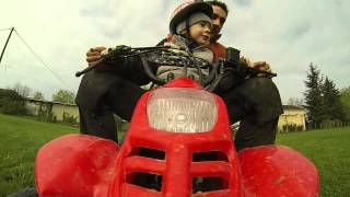 8. luca and the new quad bike