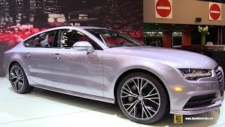2016 Audi A7 3.0T Quattro - Exterior And Interior Walkaround - 2015 Montreal Auto Show