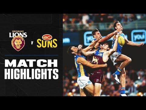 Brisbane v Gold Coast Highlights | Round 16, 2020 | AFL