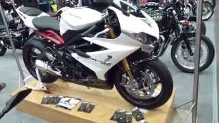 6. Triumph Daytona 675 R 125 Hp 260 Km/h 161 mph * see also Playlist