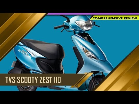 TVS Scooty Zest 110 | Specifications and Price | Auto Report : TV5 News