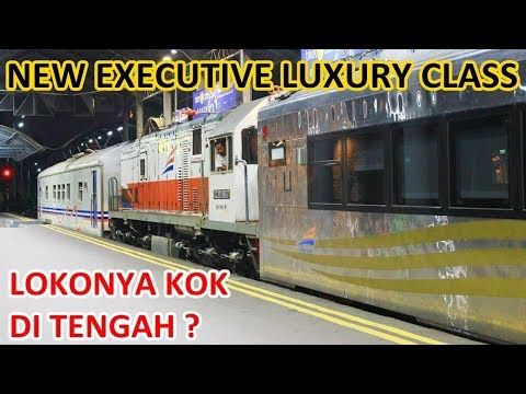 PERDANA NEW Kereta Executive Luxury Sleeper ke Surabaya, Lokonya Kejepit!