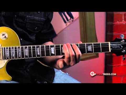 Rhythmic Lead – Rock Guitar Lesson – Guitar Tricks 65: