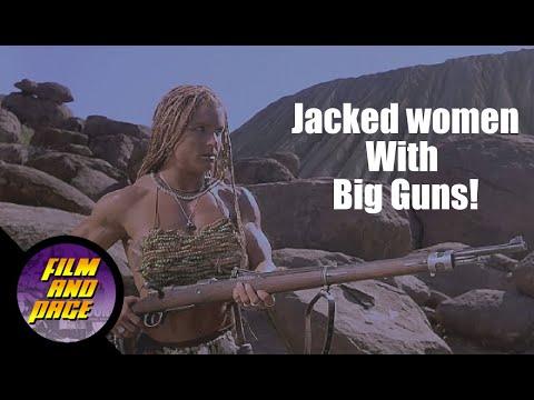Nemesis 2: Nebula (1995) and Nemesis 3: Time Lapse (1996)...Jacked women with big guns!