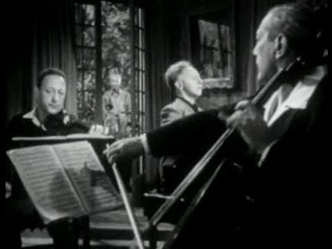 Heifetz, Rubinstein, Piatigorsky - Mendelssohn Trio in D minor, II mov.