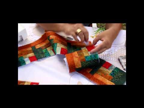 Patchwork Sem Segredos Aula 06: Montagem Estrutura da Bolsa (Ana Cosentino)