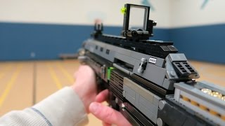 "Teenager creates ""LEGO Bal-27"" Replica from Call Of Duty Advanced Warfare"