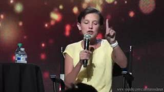 Millie Bobby Brown raps Nicki Minaj's verse from