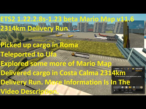 Mario Map (Europe, America, Russia) 1.23